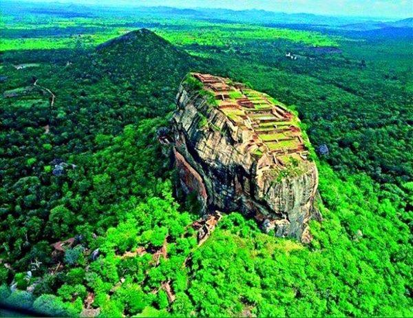 Sigiriya rock fortress Sri Lanka