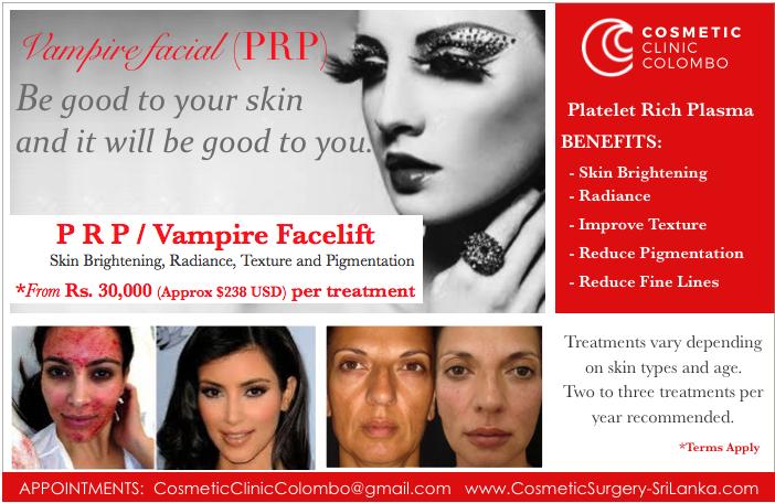 PRP Platelet Rich Plasma Skin brightening radiance Vampire facelift