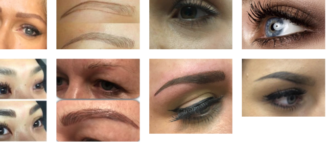 SEMI PERMANENT EYE BROW TATTOOING 6D 3D eyebrows Hair stroke eyebrows Ombre eyebrows Feather eyebrow tattoo Hair stroke eyebrow procedure