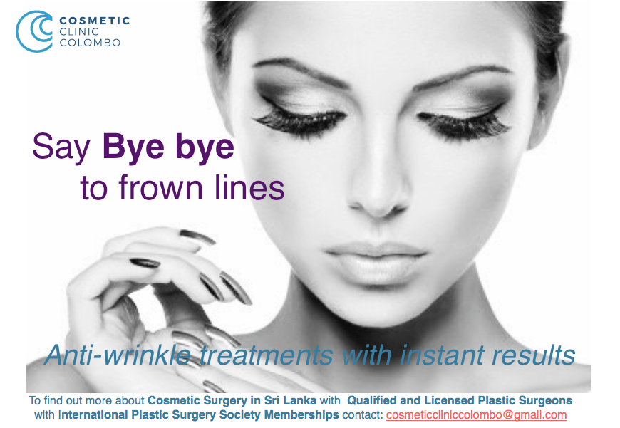 BOTOX SRI LANKA COLOMBO PLASTIC SURGEONS