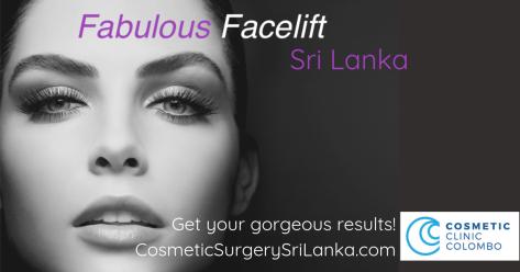 Face lift Eyelids eye bags Blepharoplasty neck lift look younger Dr Dulip Sri Lanka Colombo