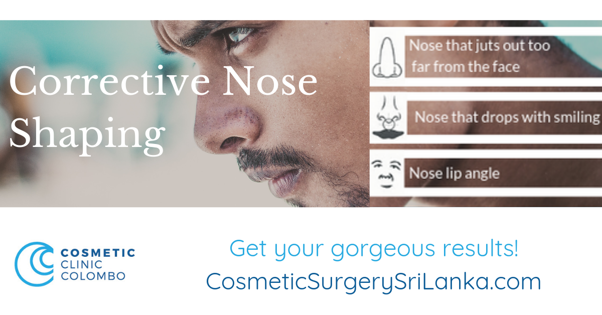Nose surgery Sri Lanka Dr Dulip Rhinoplasty Septoplasty Men