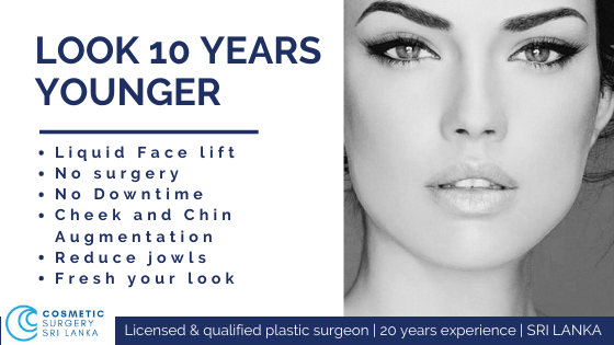 Look 10 years younger BOTOX FILLERS Co2 LASER PRP SRI LANKA Dr Dulip Dr Thushan