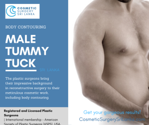 Male Tummy Tuck and scrotal lift SRI LANKA 20 years experience plastic surgeon Sri Lanka Colombo