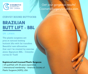 Brazilian Butt Lift Sri Lanka Liposuction Fat Transfers
