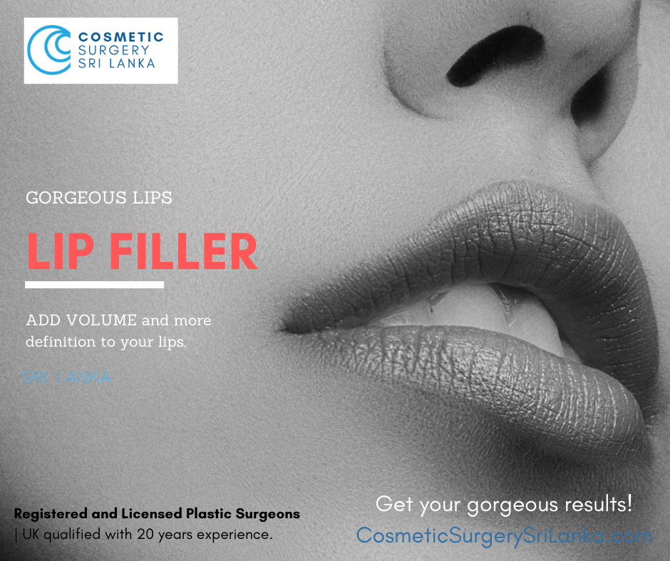 Lip Filler Sri Lanka Dermal Fillers Sri Lanka Colombo Cosmetic Surgery Plastic Surgeon