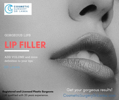 Lip Filler Sri Lanka Dermal Fillers Sri Lanka Colombo Cosmetic Surgery Plastic Surgeon