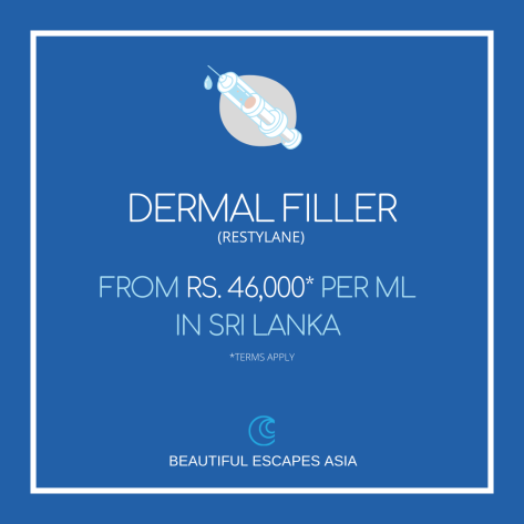 Dermal Fillers Liquid facelift  SRI LANKA Lips Face