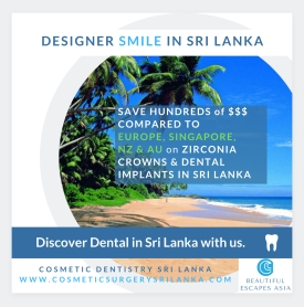 DESIGNER SMILE SRI LANKA ZIRCONIA CROWNS